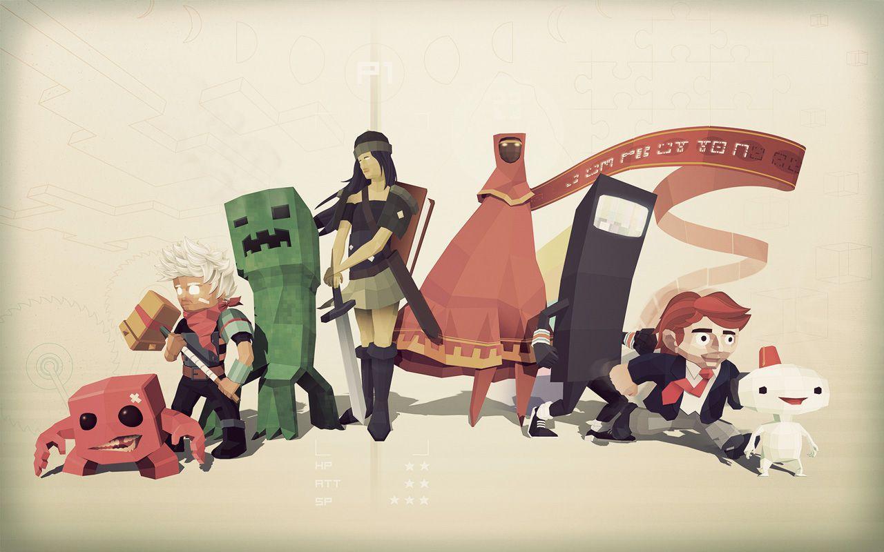 Независимые игры - Странные персонажи