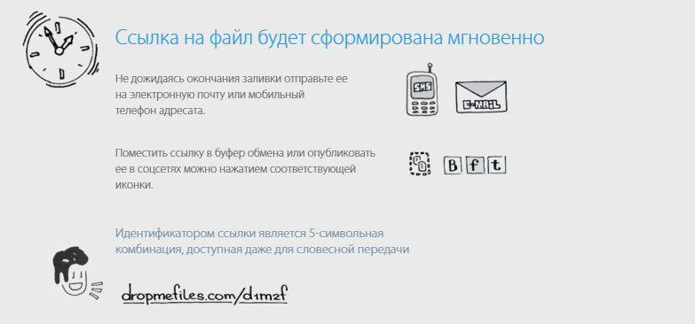 Файлообменник без регистрации - Ссылка на файл будет сформирована мгновенно