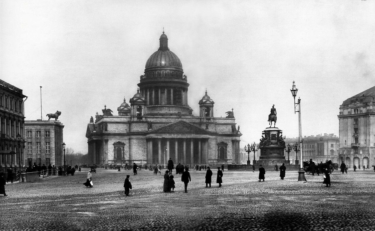 Старые фотографии городов - Иссакиевский собор