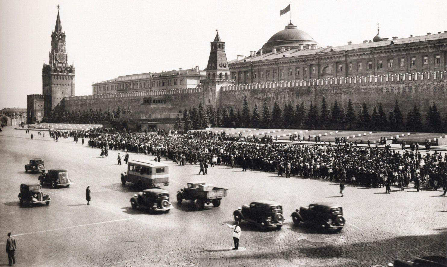 Старые фотографии городов - Красная площадь