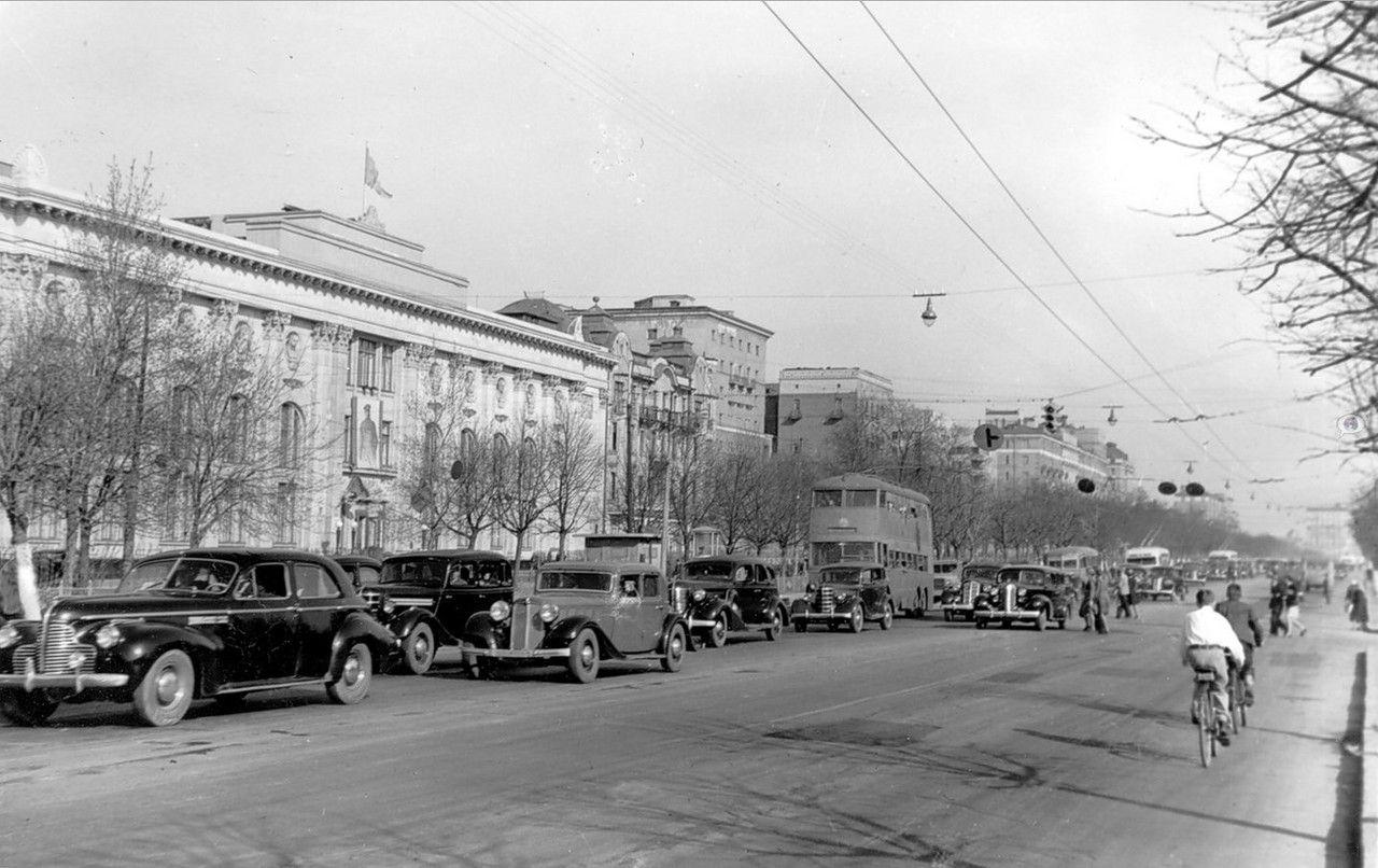Старые фотографии городов - Москва