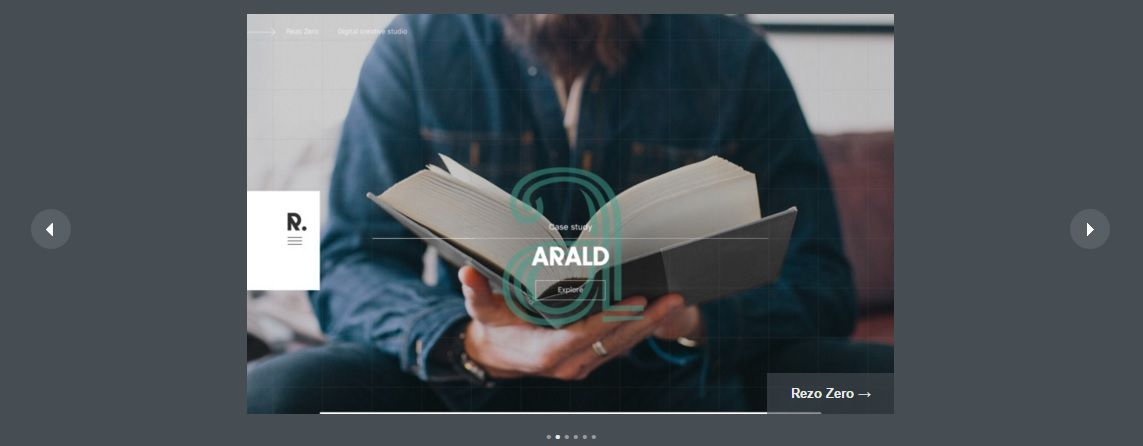 Интерактивный web-дизайн - Отображение сайта