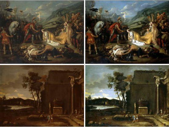 Виртуальный музей искусства - Пример реставрации