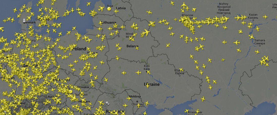 Radar24 - Отслеживание полетов