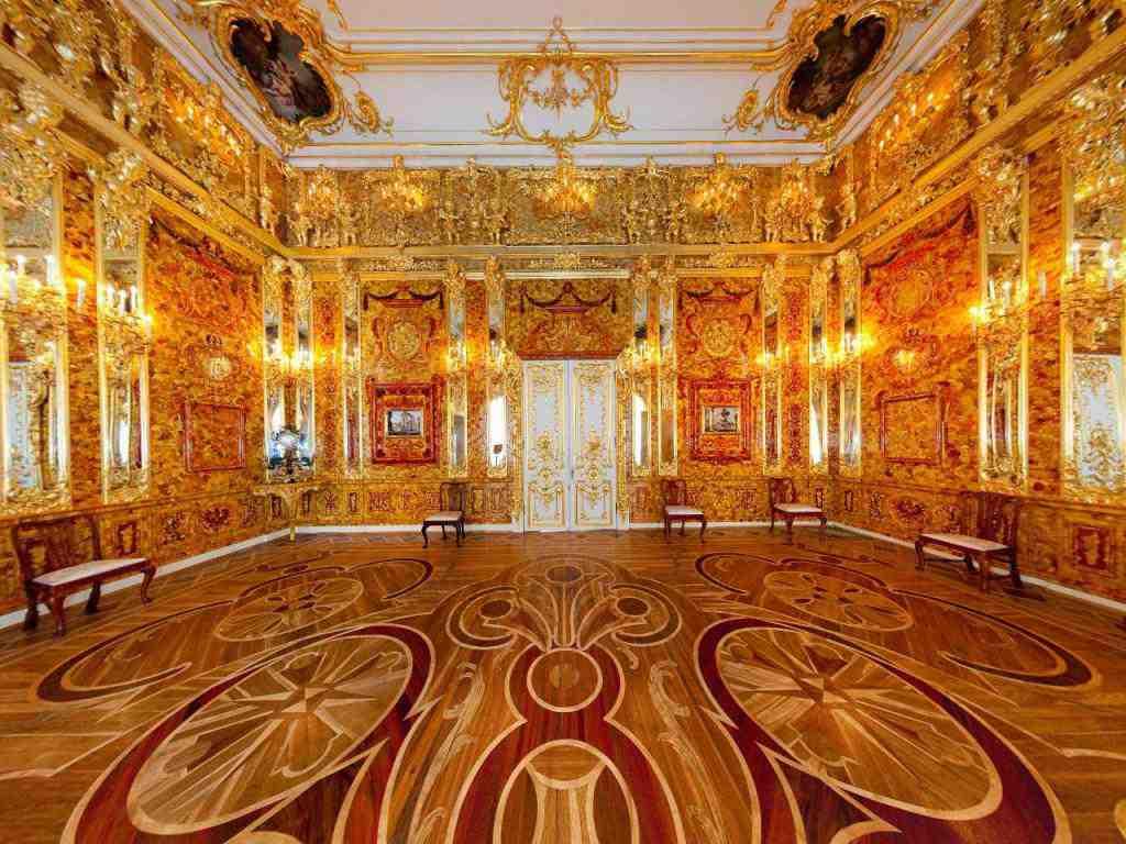 Царское село - Янтарная комната
