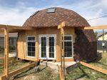 Дом юрта – Двухэтажный дом-юрта своими руками